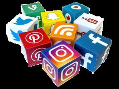 Social Media Logos Cutout