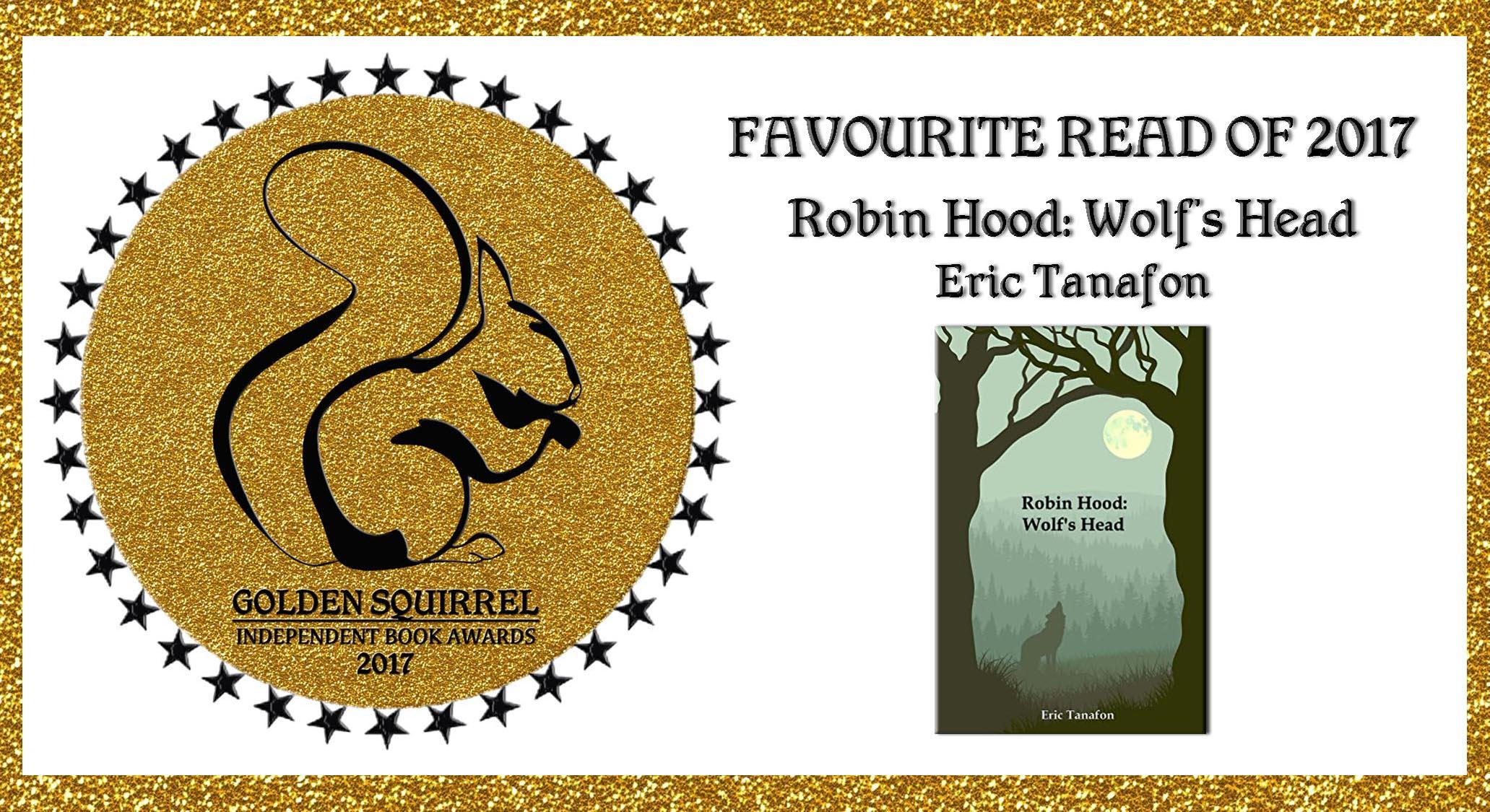 Golden Squirrel Awards Best Book2017