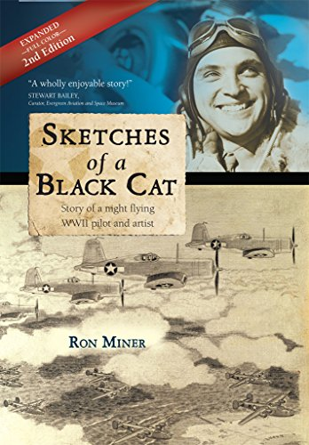 Ron Miner Sketches of a Black Cat
